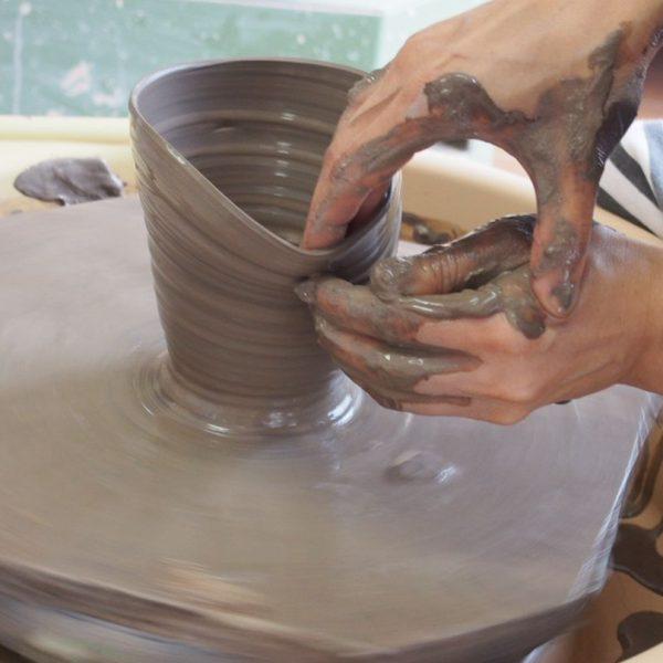 1日陶芸体験「電動ろくろプラン」