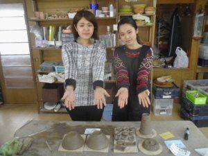 初☆陶芸体験