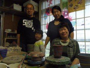 母の日プレゼントは陶芸体験♪