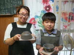 夏休みに陶芸体験にこだわる
