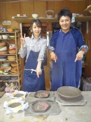 粘土追加で大皿に挑戦!