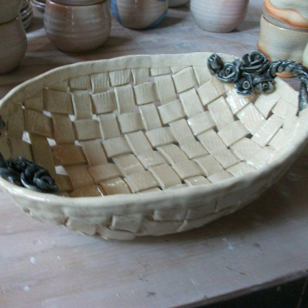 1日陶芸体験「編みかごプラン」