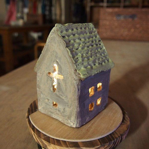 夏休みに家族で陶芸体験「ランプシェードプラン」